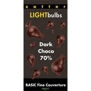 Couverture Chocolate  - Bulbs Dark 70% |  Chocolaet Semi Sweet