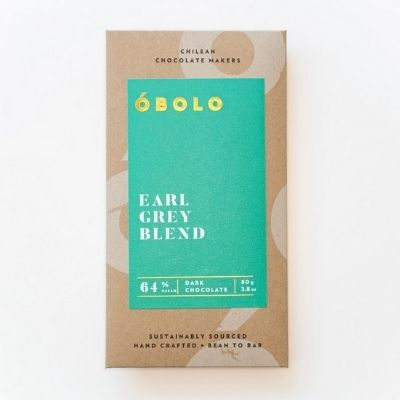 Dark Chocolate - Obolo Earl Grey | Vegan Chocolate