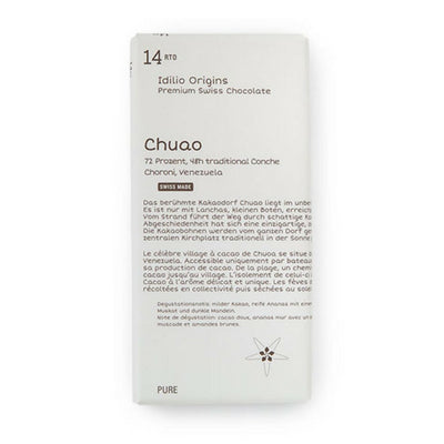 Idilio - Dark Chocolate - Chuao 72%