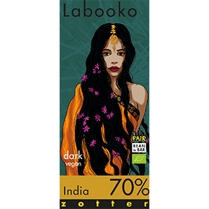 Dark Chocolate - Zotter India 70% | Chocolate Delivery Singapore