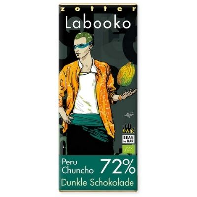 Dark Chocolate - Labooko Chuncho | Gluten Free Chocolate