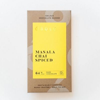 Dark Chocolate - Obolo Masala Chai | Bean-to-bar Chocolate