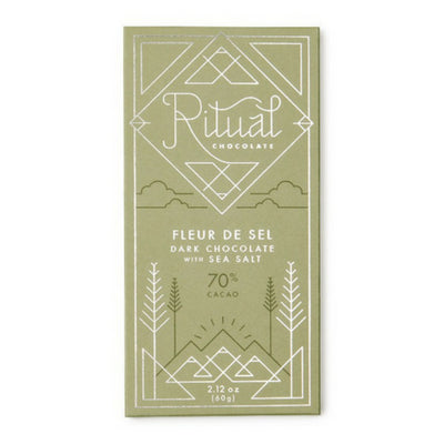 food hamper chocolate | dark chocolate | ritual fleur de sel