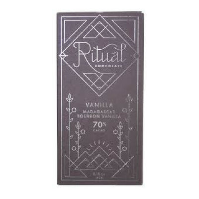 Dark Chocolate - Ritual Bourbon Vanilla |  Bean-to-bar Chocolate