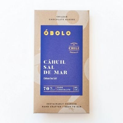 Dark Chocolate - Obolo Sea Salt | Obolo