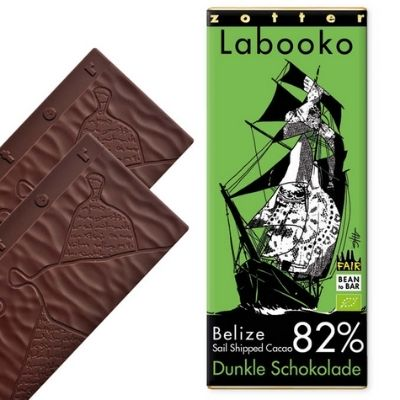 Dark Chocolate - Zotter Belize 82% | Hello Chocolate Singapore
