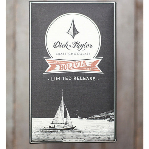 Dick Taylor - Bolivia 70% - Limited Release - Best Dark Chocolate 2016 - HelloChocolate®- Dick Taylor