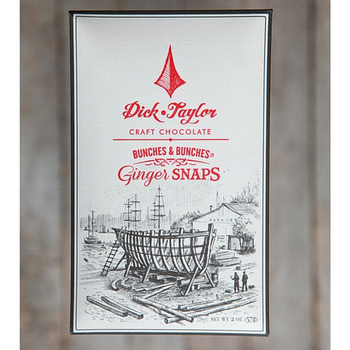 Dick Taylor Chocolate - Ginger Snaps. - HelloChocolate®- Dick Taylor