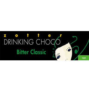 best hot chocolate | zotter bitter classic