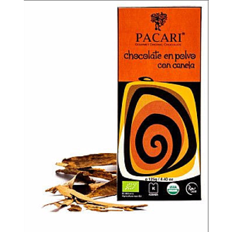 Pacari Drinking Chocolate With Cinnamon - HelloChocolate®- Pacari