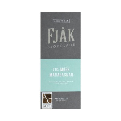 Craft Dark Chocolate - Fjak Madagascar | Luxury Chocolate