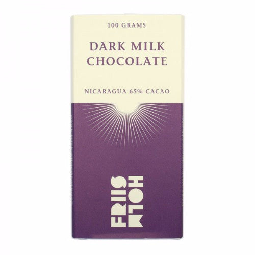 Friis Holm Chocolate - Dark Milk Nicaragua 65% - HelloChocolate®- Featured Products