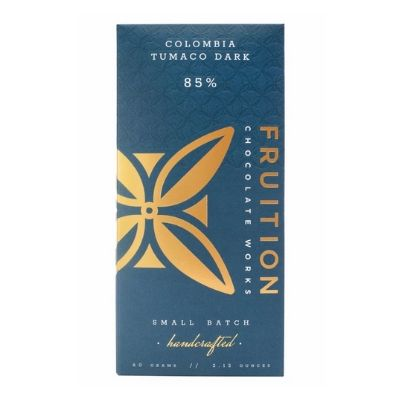 Dark Chocolate Delivery Singapore |  Fruition Colombia Tumaco 85%
