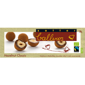 Nuts in Chocolate - Zotter Hazelnuts Classic |  Delivery Chocolates