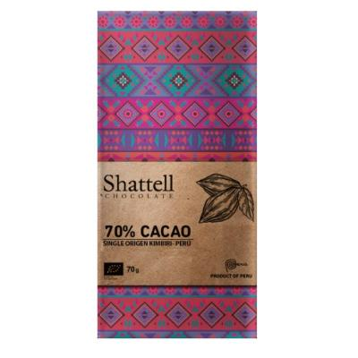 Shattell - Dark Chocolate - Kimbiri 70%