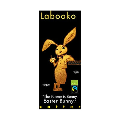 Labooko - The Name id Bunny, Easter Bunny - Dark Chocolate