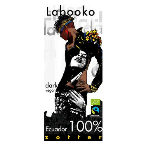Labooko Dark Chocolate Ecuador 100%