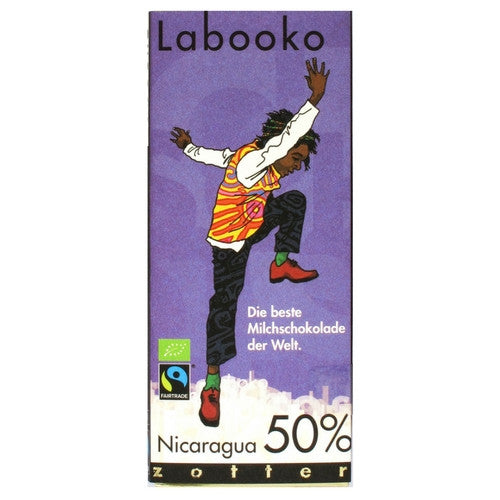 Labooko Chocolate - Nicaragua 50% – The Best Milk Chocolate in the World
