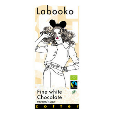 White Chocolate - Labooko Reduced Sugar | Online Chocolates