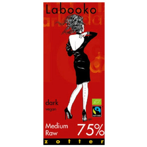 Labooko - Dark Chocolate - Medium Raw 75%
