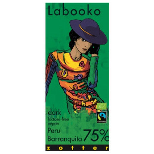 Labooko - Dark Chocolate -  Peru Barranquita 75%