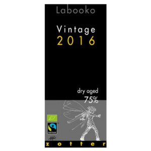 Labooko - 2016 Vintage, Dry Aged 75% Dark Chocolate