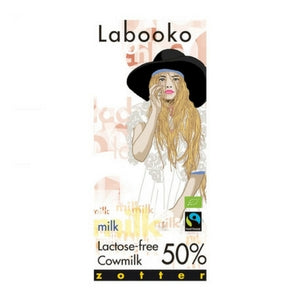 Lactose Free Cow Milk 50% - Milk Chocolate-labooko