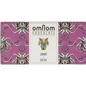Omnom Lakkris & Sea Salt Milk Chocolate - HelloChocolate®- Omnom