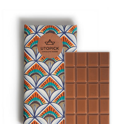 milk chocolate with pop rocks and passion fruit | utopick