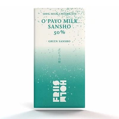Milk Chocolate - O'Payo with Green Sansho Pepper, 50%