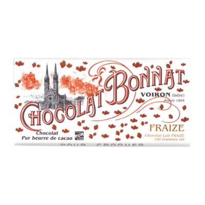 Milk Chocolate | Bonnat Strawberry, 55% |