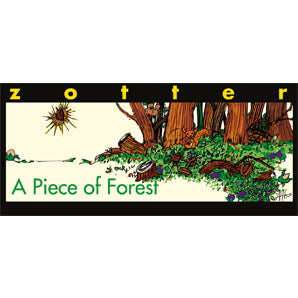 milk chocolate | zotter a piece of forrest
