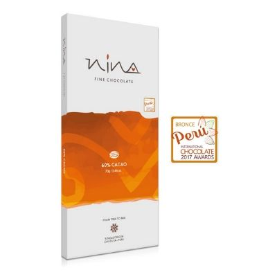 Nina - Dark Chocolate - 60% | chocolates singapore