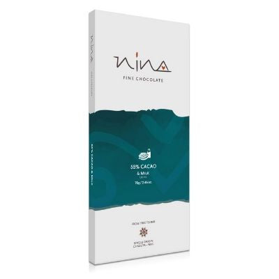 Nina - Milk Chocolate - 55% | chocolates Singapore