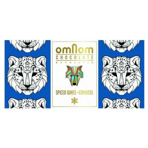 omonom chocolate white spiced with caramel | best chocolate online