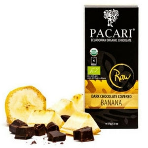 Pacari - Fruit in Chocolate - Dark Chocolate Covered Bananas