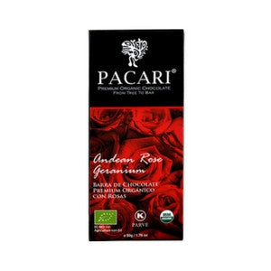 pacari dark chocolate with andean rose | chocolate gifts delivery
