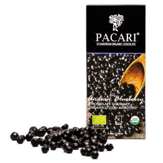 Pacari 70% With Andean Blueberry - HelloChocolate®- Pacari