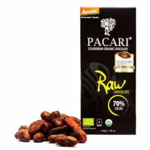 Pacari raw chocolate 70% | chocolate gifts delivery