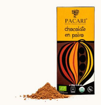 Pacari Drinking Chocolate Natural Flavor - HelloChocolate®- Pacari