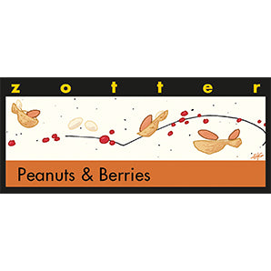 Peanuts & Berries - Zotter Chocolate | Chocolate Gifts