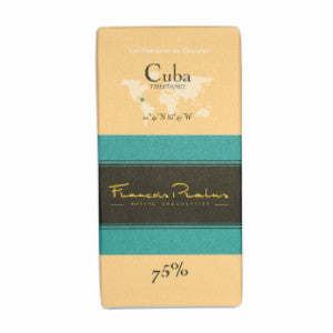 pralus dark chocolate cuba 75 | chocolate & chocolate gifts
