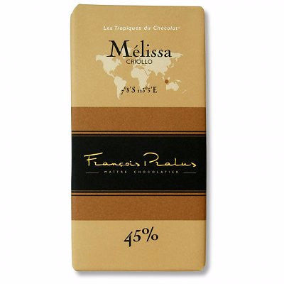 Pralus Chocolate - Melissa 45% - HelloChocolate®- Featured Products