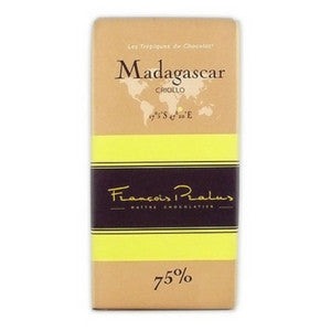 Pralus Chocolate - Madagascar 75% - HelloChocolate®- Featured Products