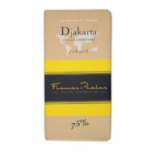 Pralus Chocolate - Djakarta 75% - HelloChocolate®- Featured Products