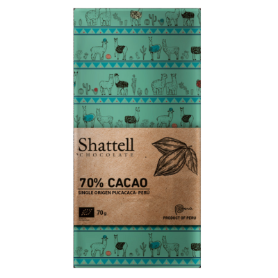 Shattell - Dark Chocolate - Pucacaca 70%