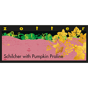 Zotter - Hand-Scooped Chocolate - Pumpkin Praline