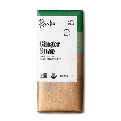 Raw Chocolate - Raaka Ginger Snap | Hello Chocolate Delivery