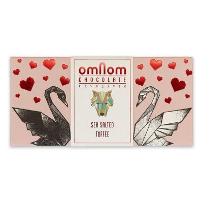 White Chocolate -  Omnom Sea Salted Toffee | Best Chocolate Online