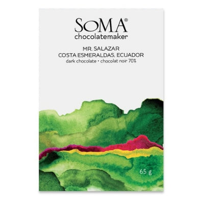 best craft chocolate | soma Ecuador 70%